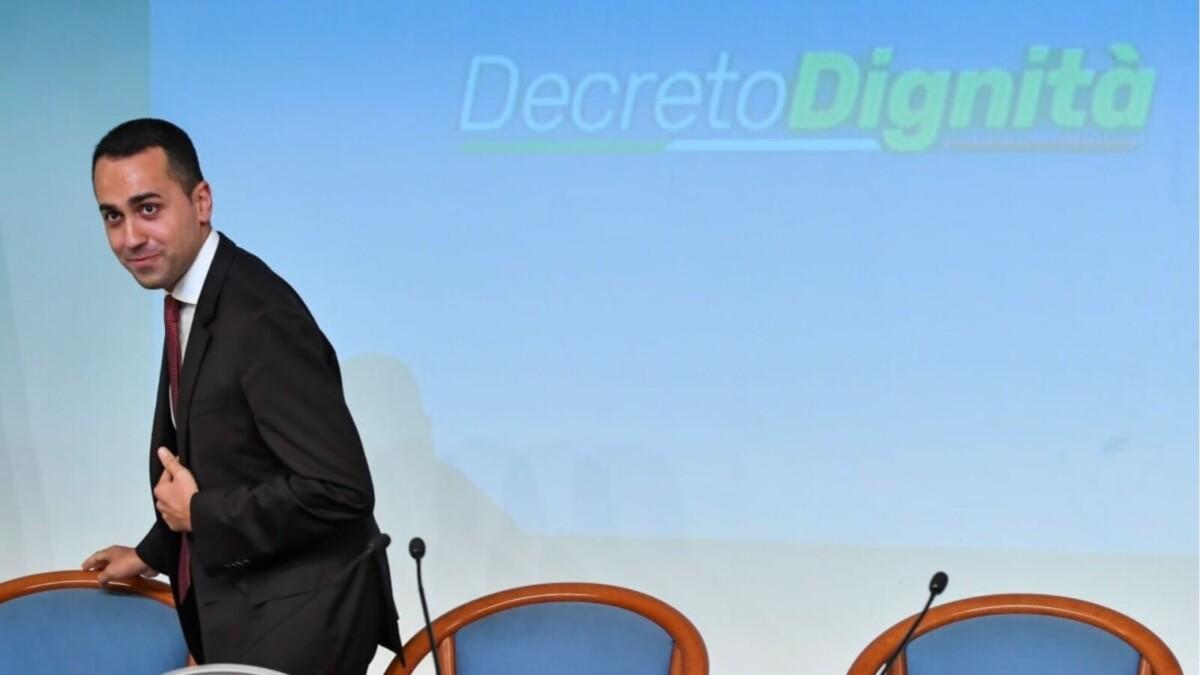 Il decreto dignità? Crea disoccupati (19 dic 2018)