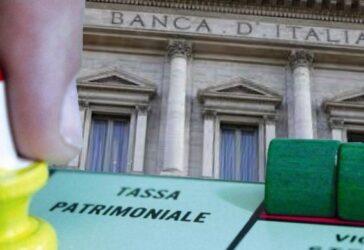 patrimoniale banca italia
