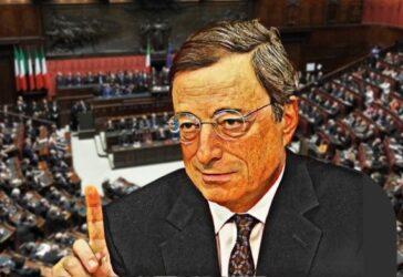 draghi parlamento