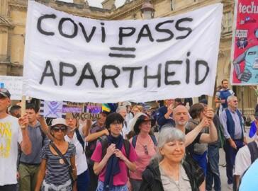 green pass proteste
