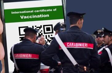 carabinieri green pass(2)
