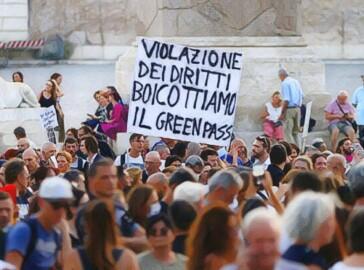 manifestazione no green