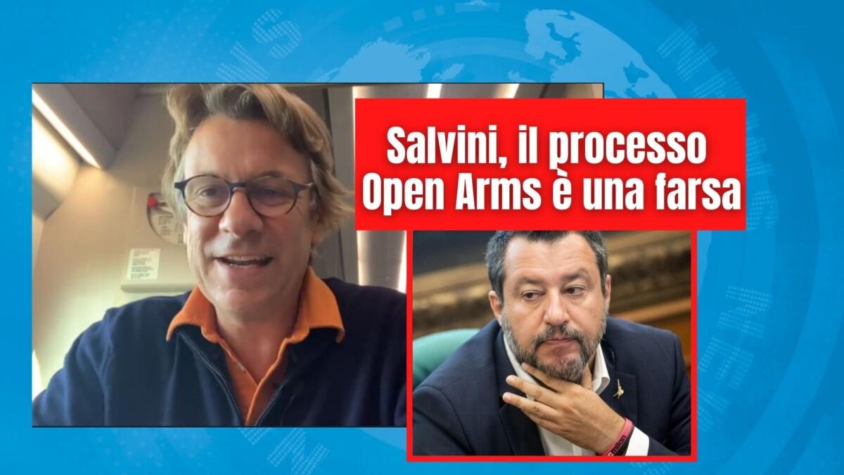 Salvini, il processo Open Arms è una farsa